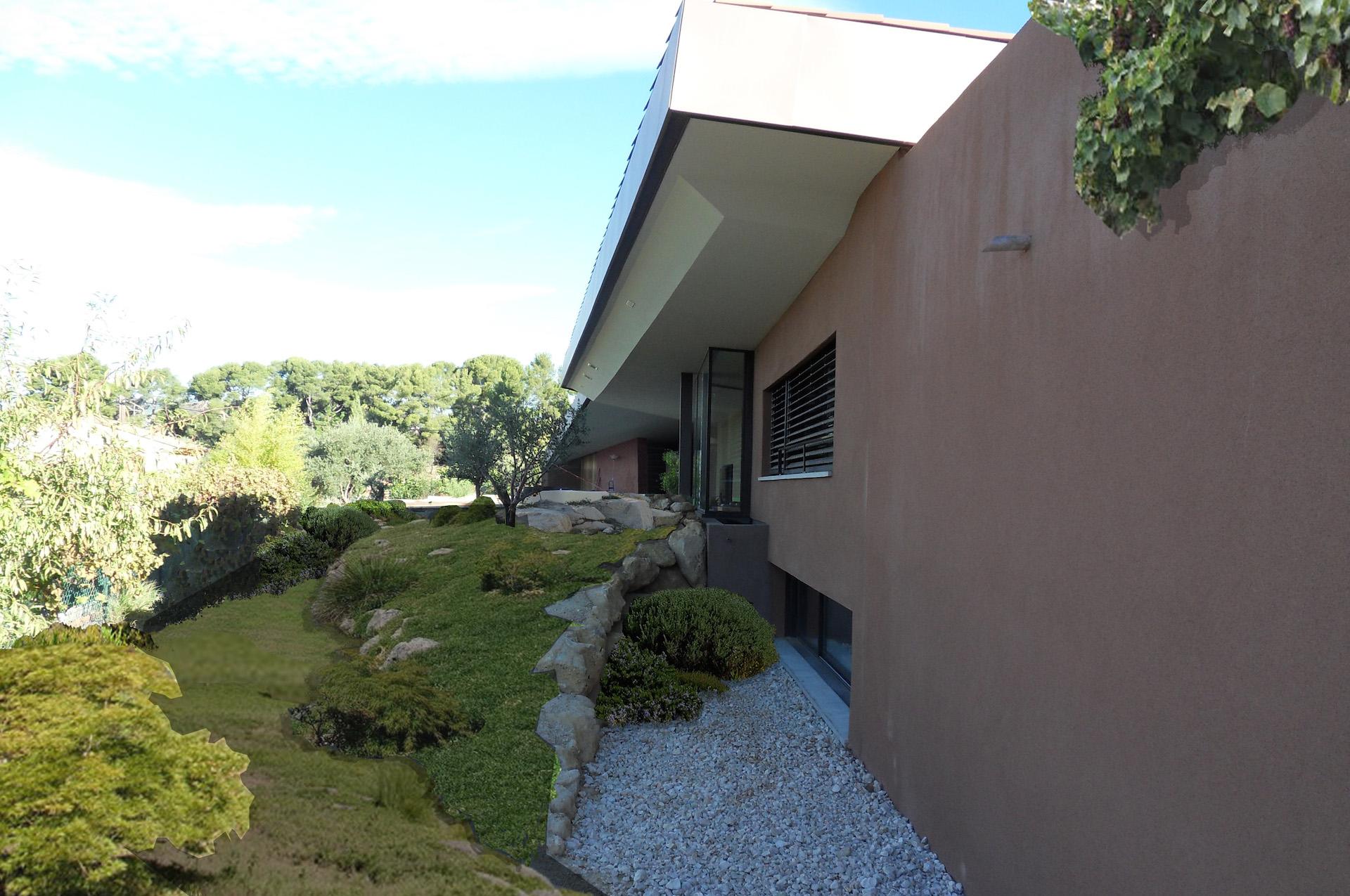 Architecte allauch construction d 39 une villa contemporaine for Architecture anglaise
