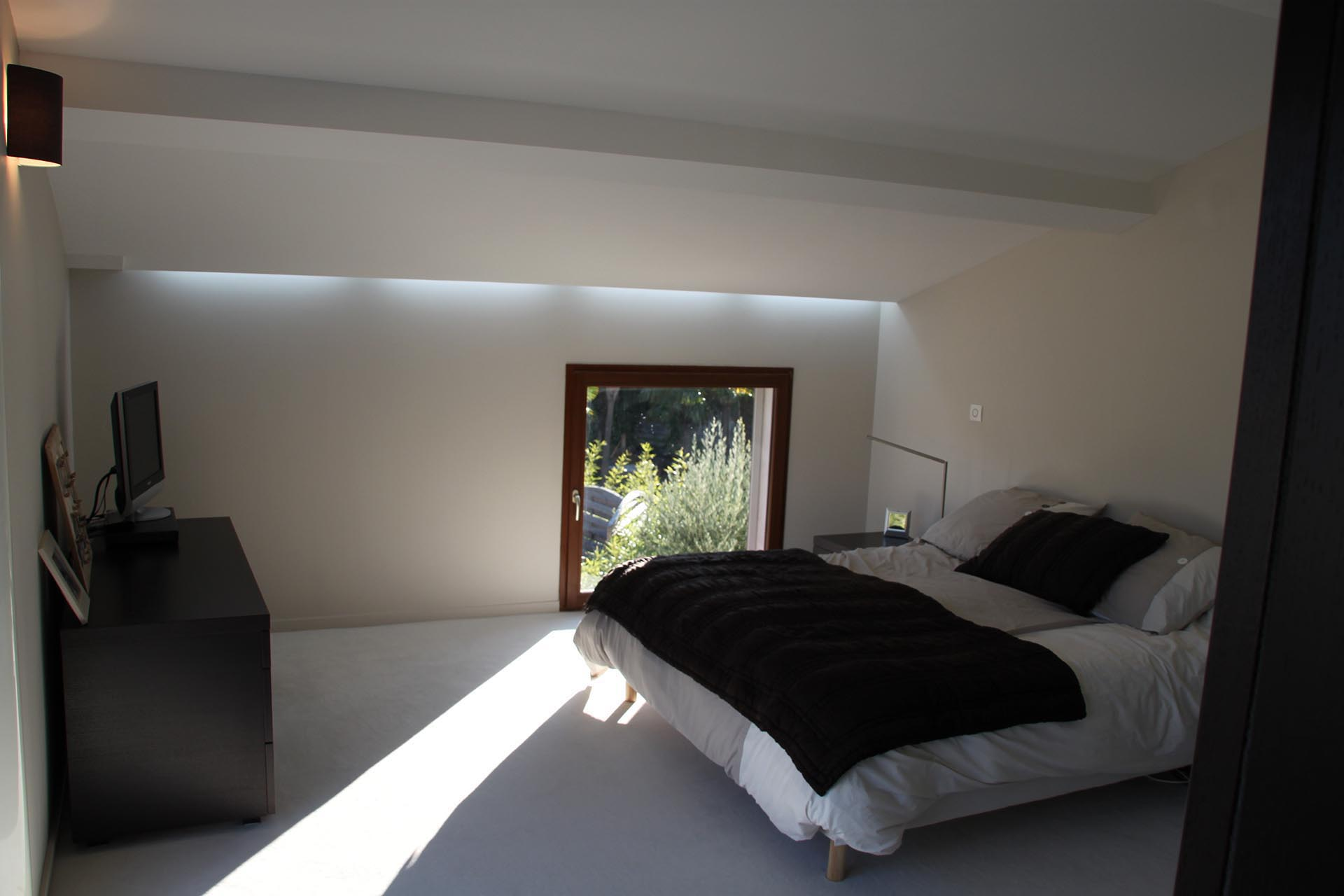 Architecte marseille transformation d 39 une maison for Ambiance chambre parentale