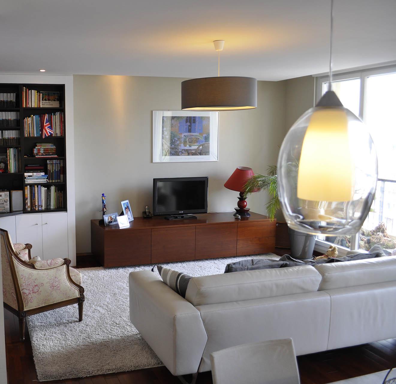 Architecte marseille am nagement d 39 un appartement for Faux plafond sejour