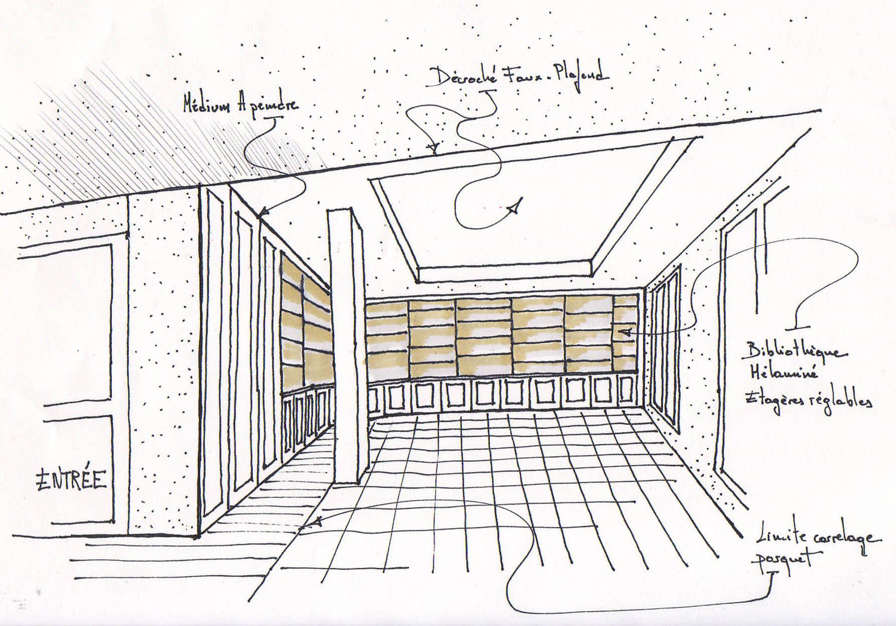 #897442 Architecte Marseille Aménagement D'un Appartement 2899 plan architecture suite parentale 1785x1247 px @ aertt.com