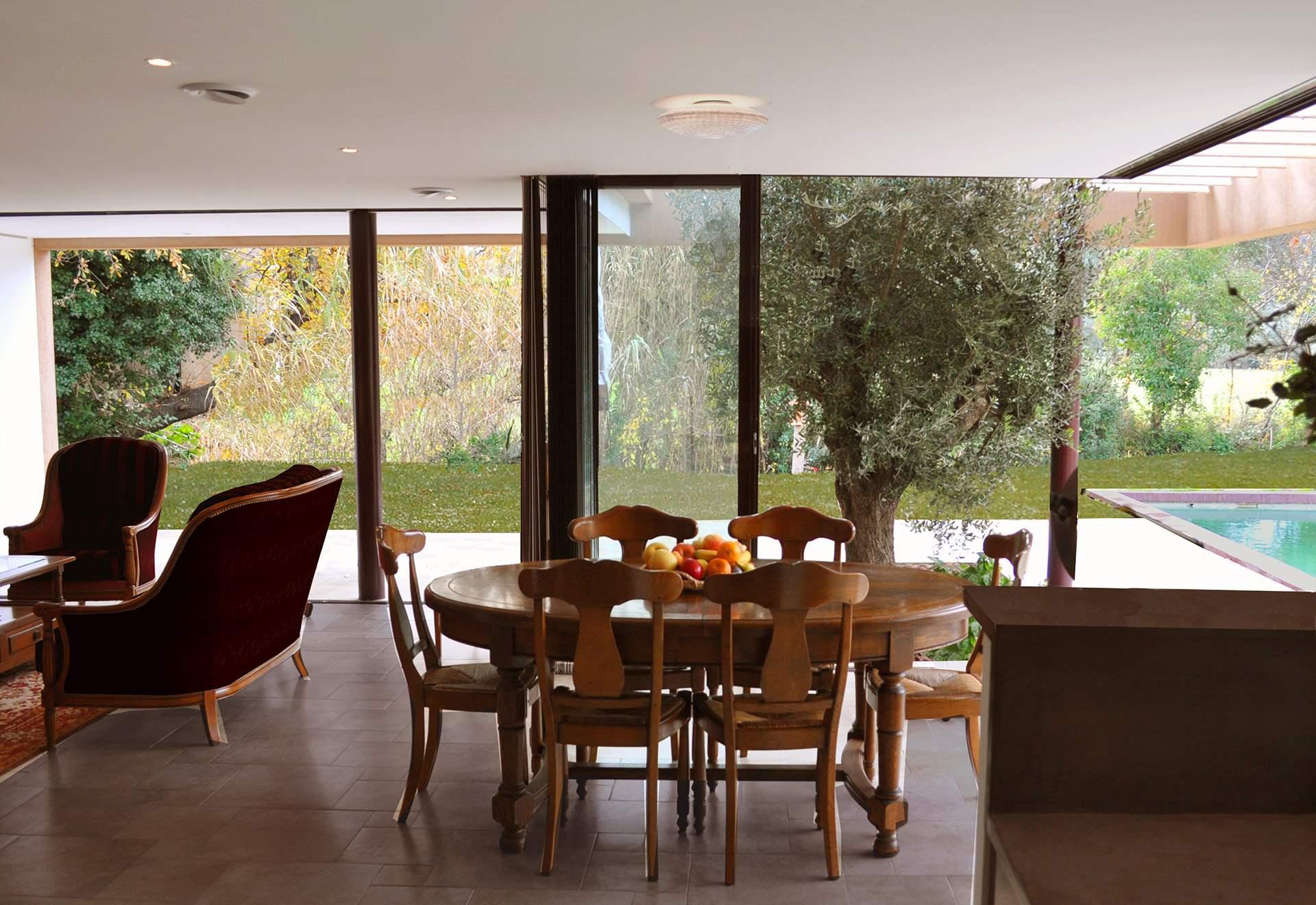architecte le pradet construction d 39 une villa contemporaine. Black Bedroom Furniture Sets. Home Design Ideas