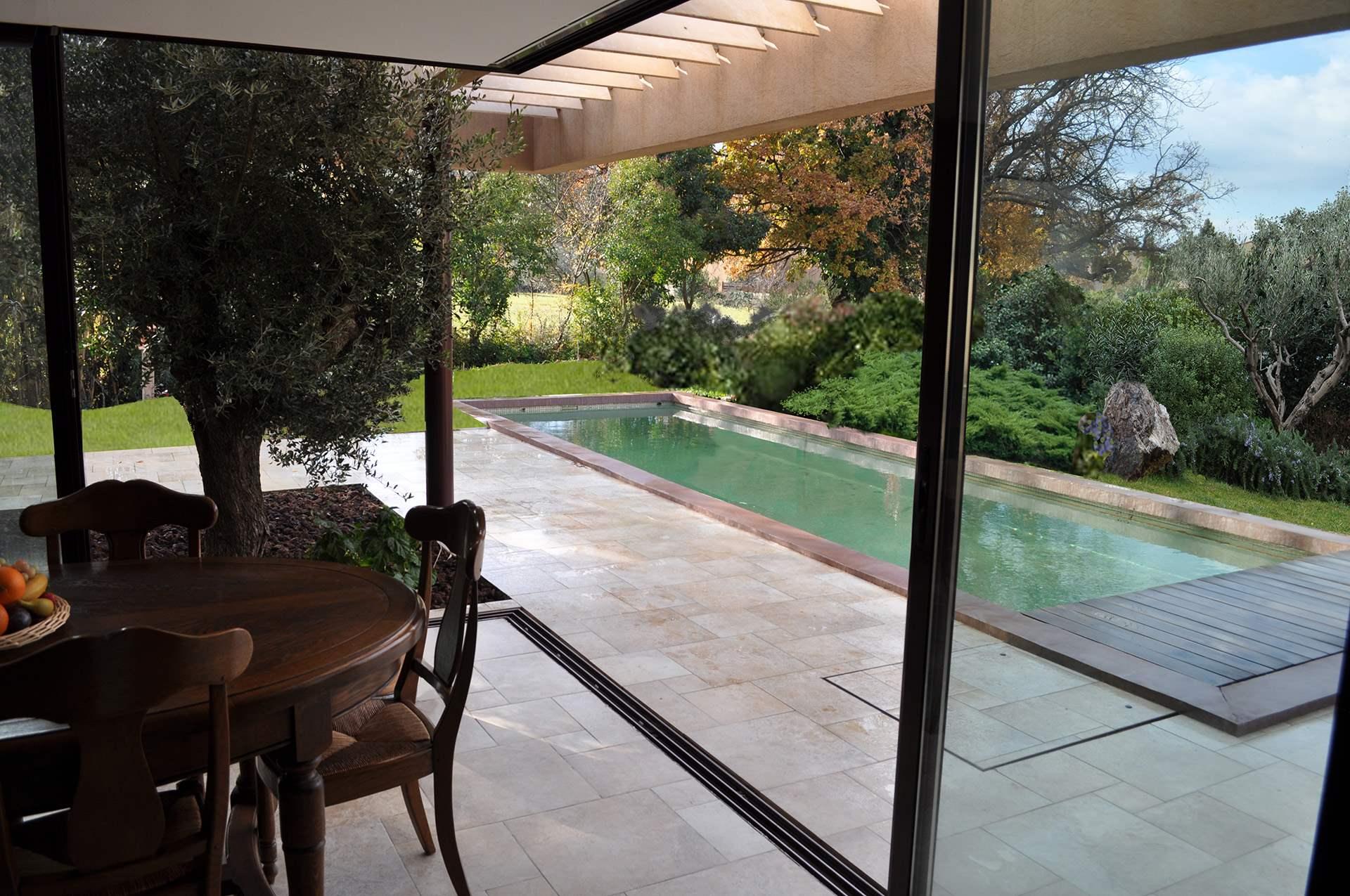 Architecte le pradet construction d 39 une villa contemporaine - Terrasse jardin suspendu montreuil ...