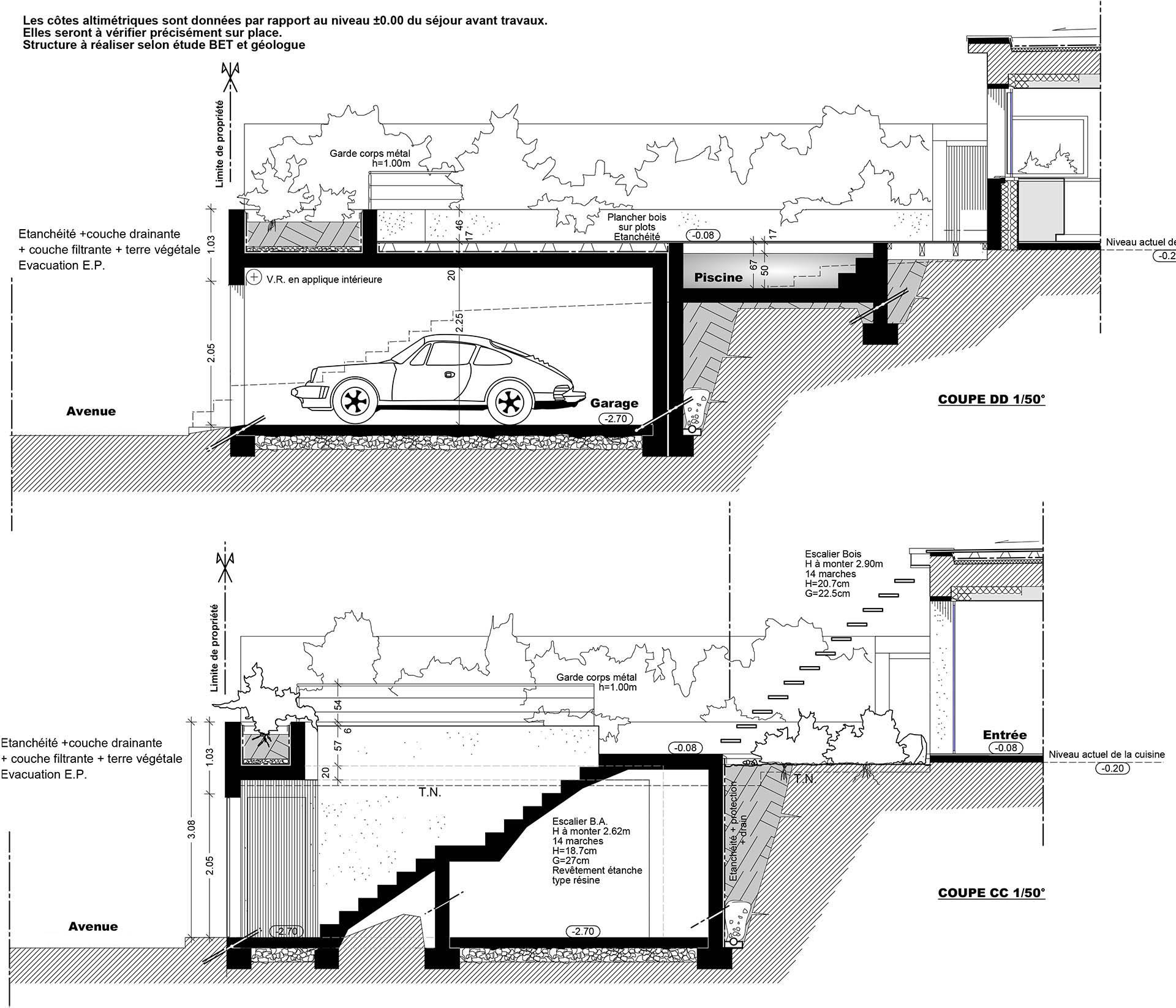 r novation d 39 une maison marseille. Black Bedroom Furniture Sets. Home Design Ideas