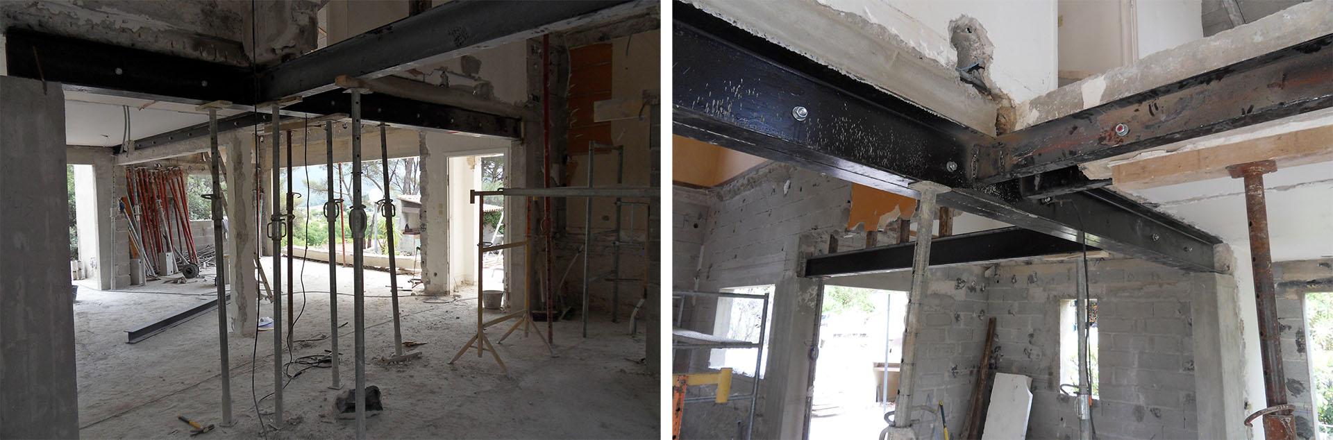 Chantier de r novation d 39 une maison dans les bouches du rh ne for Maison 1970 renovation
