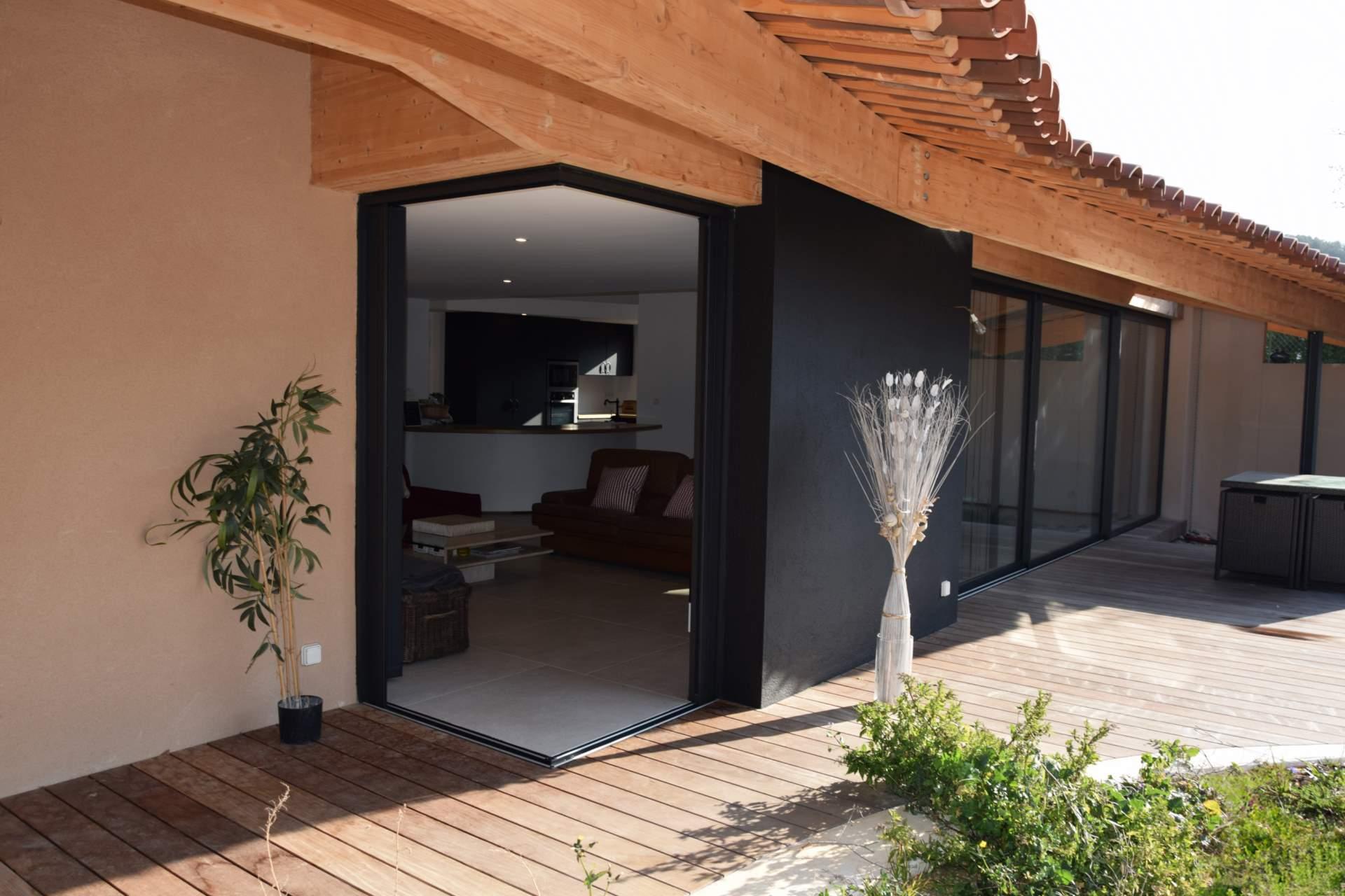Extension Maison Terrasse Couverte extension rénovation d'une maison à la ciotat - grégory